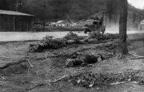 Похороны бойцов Красной Армии, погибших при освобождении Белграда. Площадь Республики.