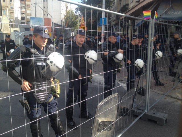 Очередной гей-парад провели в Сербии