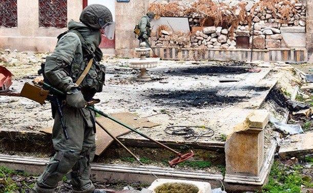 США устроили скандал из-за сербских сапёров, собирающихся помочь России в Сирии