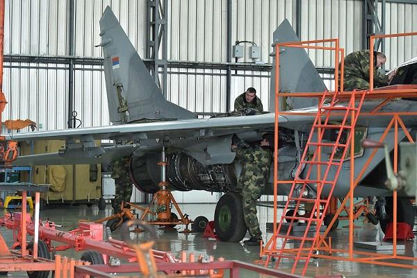 Доработка сербских МИГ-29 СД идет по плану