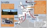 Схема транспортировки наркотиков из Албании