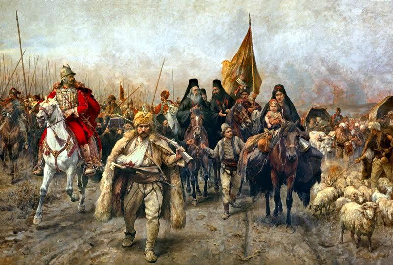 Почему на Украине было много сербов
