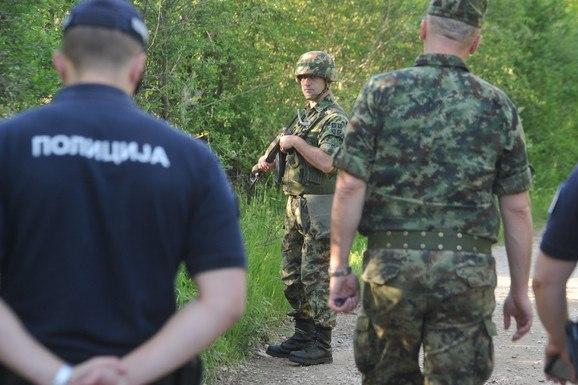 Сербская Армия группируется на «косовской границе»