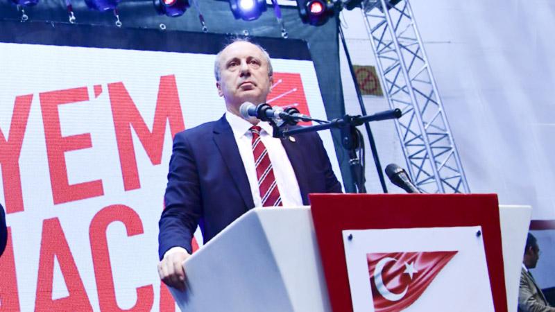 Конкурент президента Турции Мухаррем Индже на митинге собрал 5 миллионов