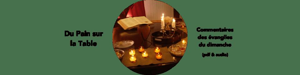 Commentaires des évangiles