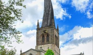 Chesterfield Derbyshire Twisted Crooked Spire