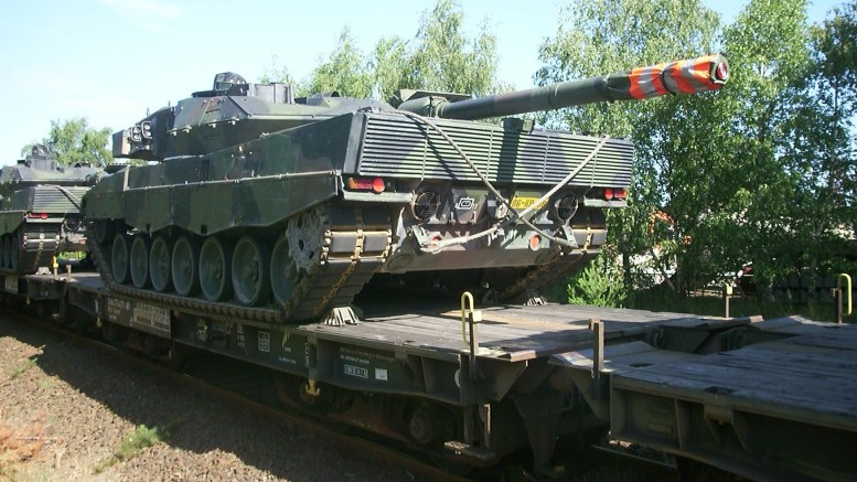 Panzertransport_Leopard_2A6_NL 230715