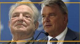 George Soros und Hans Peter Haselsteiner