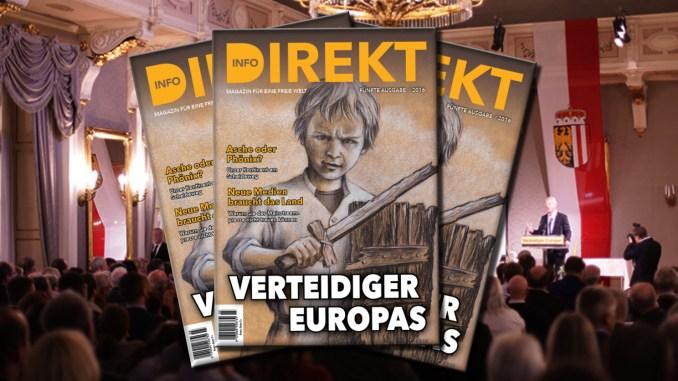 """Info-DIREKT """"Verteidiger Europas"""""""
