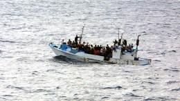 Immer mehr illegale Migranten landen auf Lampedusa