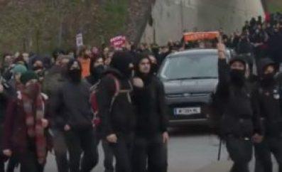 Foto der Demonstration, die Ammerer leitete.