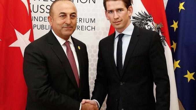 Mit Außenminister Kurz