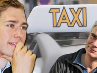 Sebastian Kurz, Werner Faymann, Taxi