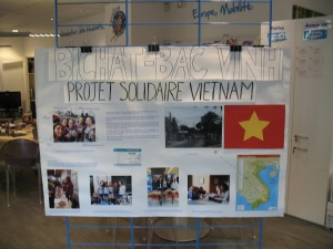 Expo : Projet solidaire au Vietnam