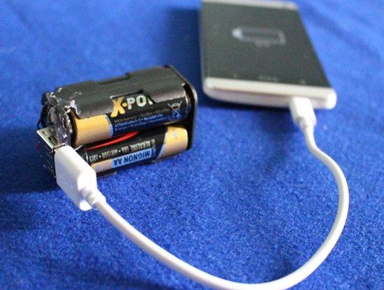 Nabíjení baterií prstů