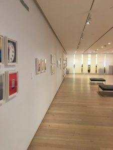 View of Whitney Museum exhibit