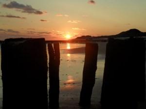 Sonnenuntergang in Zeeland