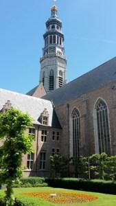 Abteigarten Middelburg mit Langem Jan