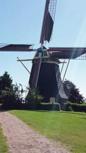Mühle von Arnemuiden mit Tuch