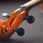 Detail Geige