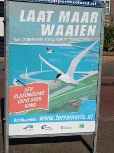 Plakat Sonderausstellung im Terra Maris Oostkapelle