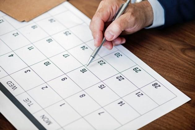 Terminkalender Monatsansicht