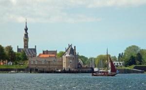 Altes Segelboot vor Veere auf Veerse Meer