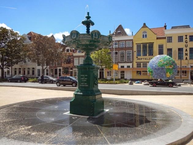 Brunnen im Bellamypark von Vlissingen