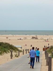 Endloser Strand in Vouwenpolder