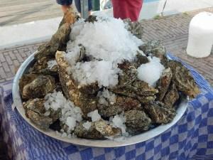 Delikatessen aus Zeeland: Austern