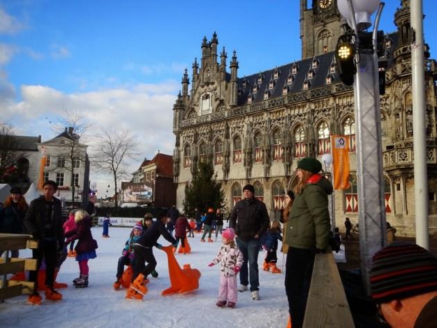 Top-Event November und Dezember: die Schlittschuhbahn in Middelburg