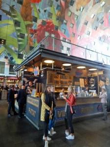 Ein Ziel für den Ausflug nach Rotterdam: die Markthalle