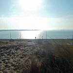 Veerse Meer vom Nordseedamm