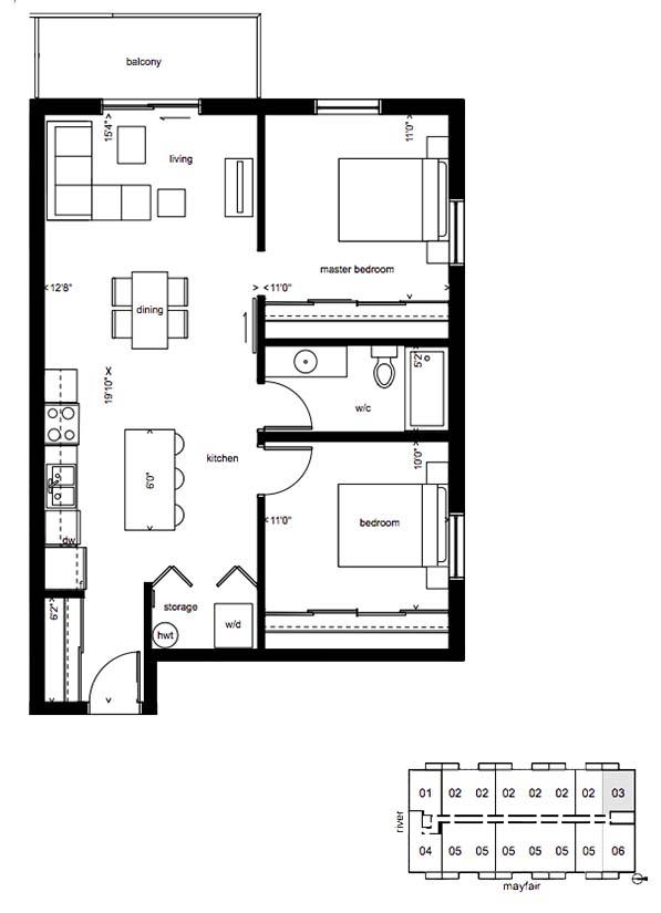 bowery 2D plan
