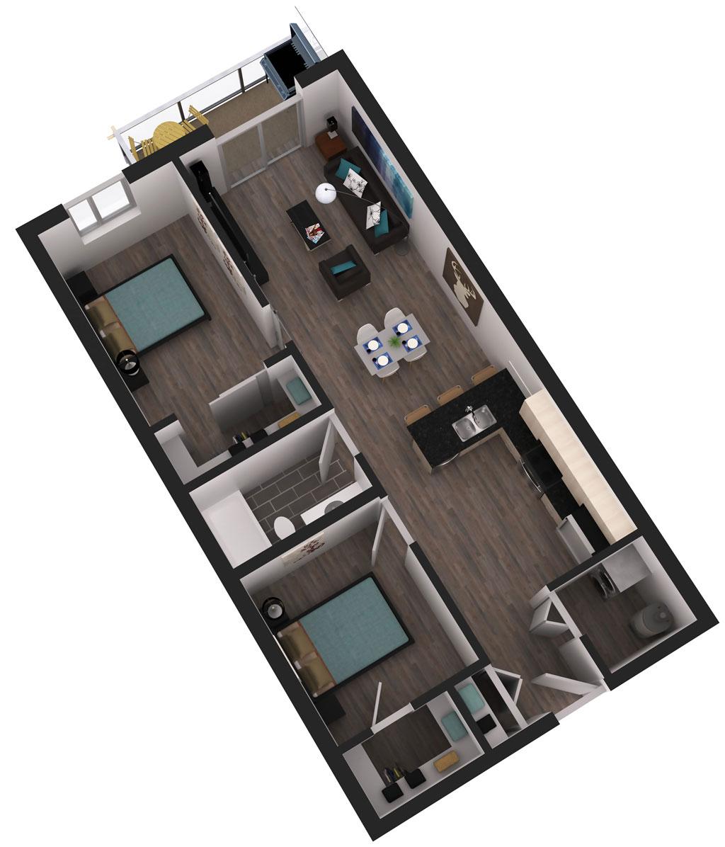 Gramercy Floor Plan
