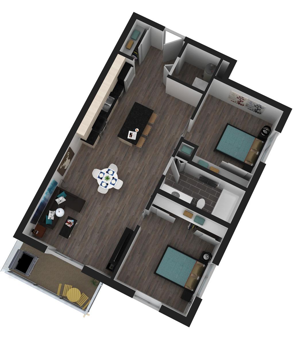 Nolita Floor Plan