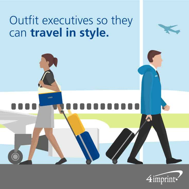 Outfit executives so they can travel in style.
