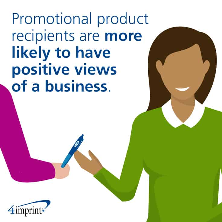 Promotional products leave a lasting impression.