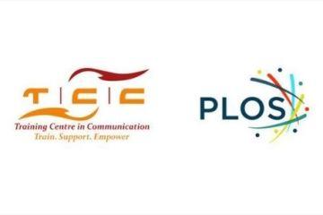 टीसीसी अफ्रीका और पीएलओएस लोगो