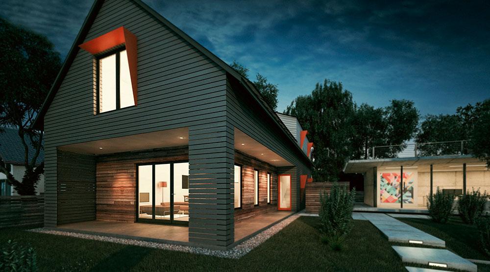 Building the net zero home acre for Netzero house