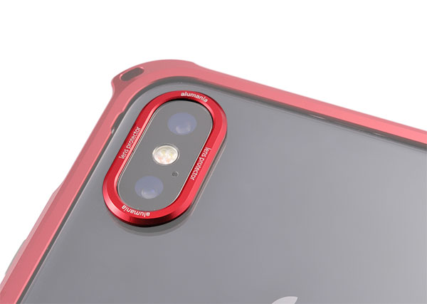 iPhoneX用のレンズプロテクター試作品