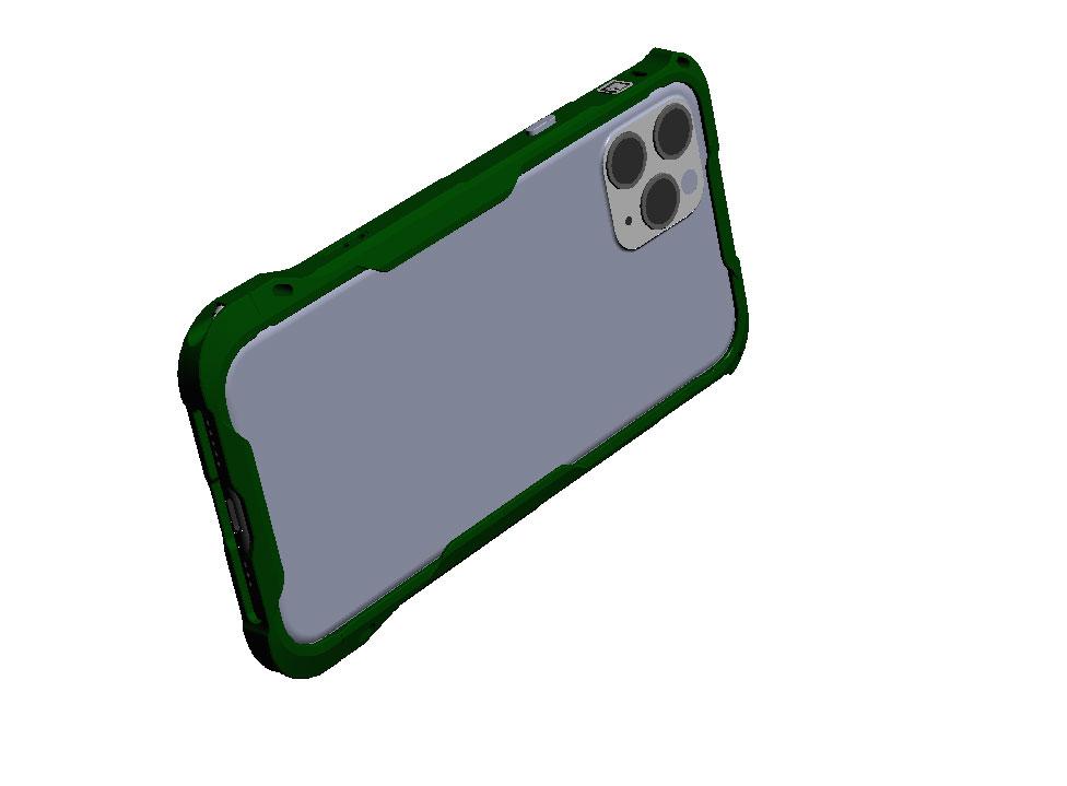 iPhone12シリーズのアルミバンパー