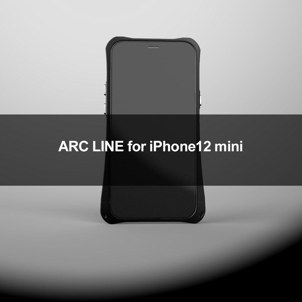 ARC LINE for iPhone12miniのフロントイメージ