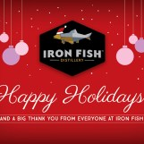 Iron Fish Holiday Postcard