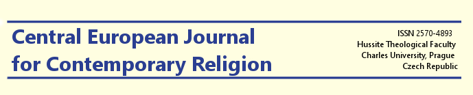 Nové číslo časopisu Central European Journal for Contemporary Religion