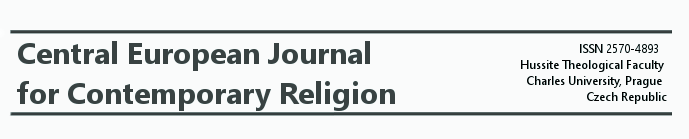 Vyšlo nové číslo časopisu Central European Journal for Contemporary Religion