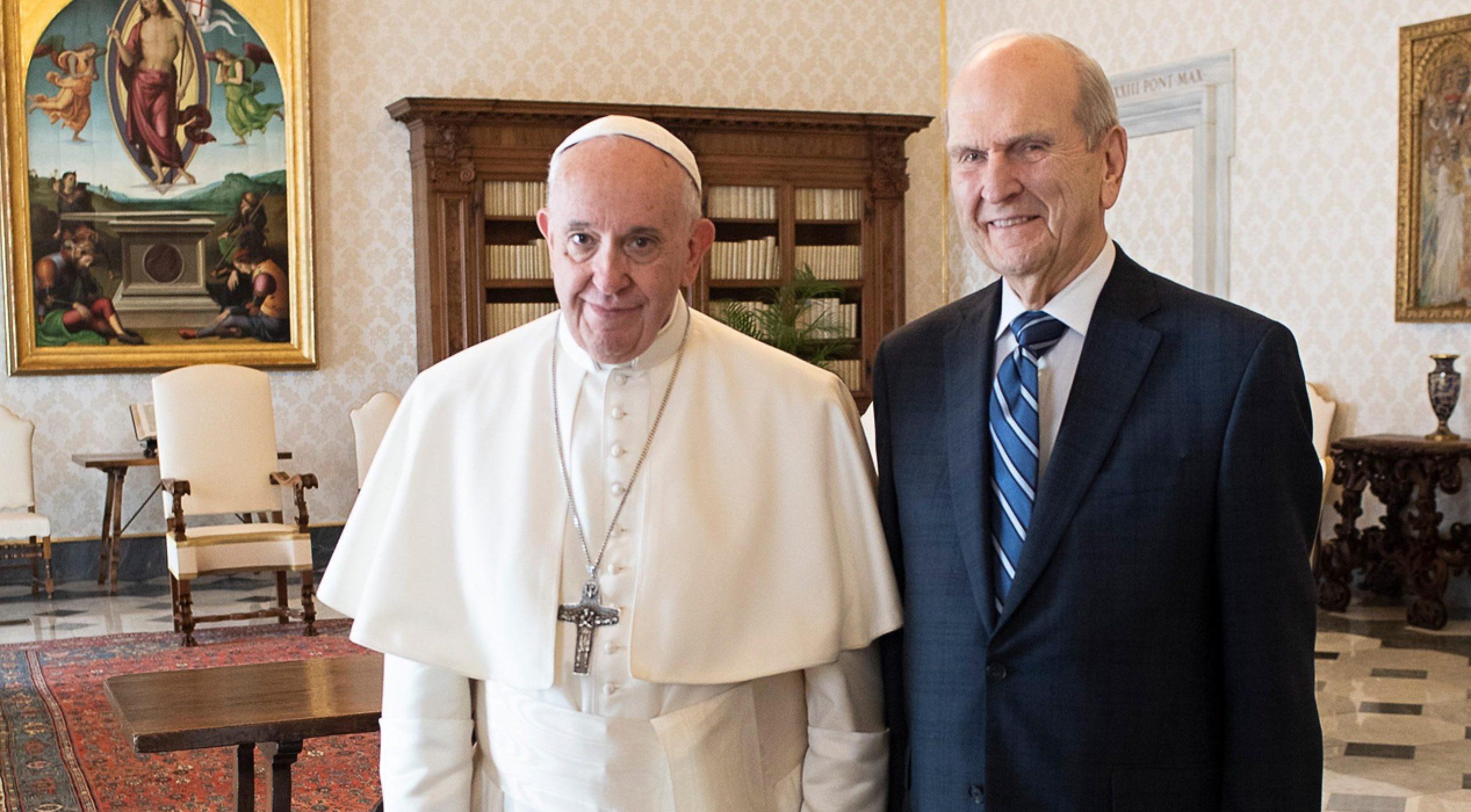 "Prorok církve ""mormonů"" se setkal spapežem"
