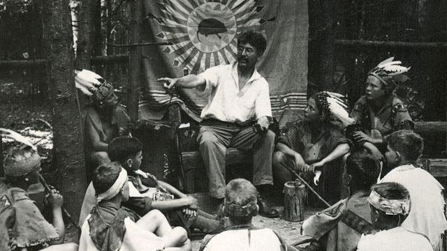Ernest Thompson Seton jako uctívač Velkého Ducha