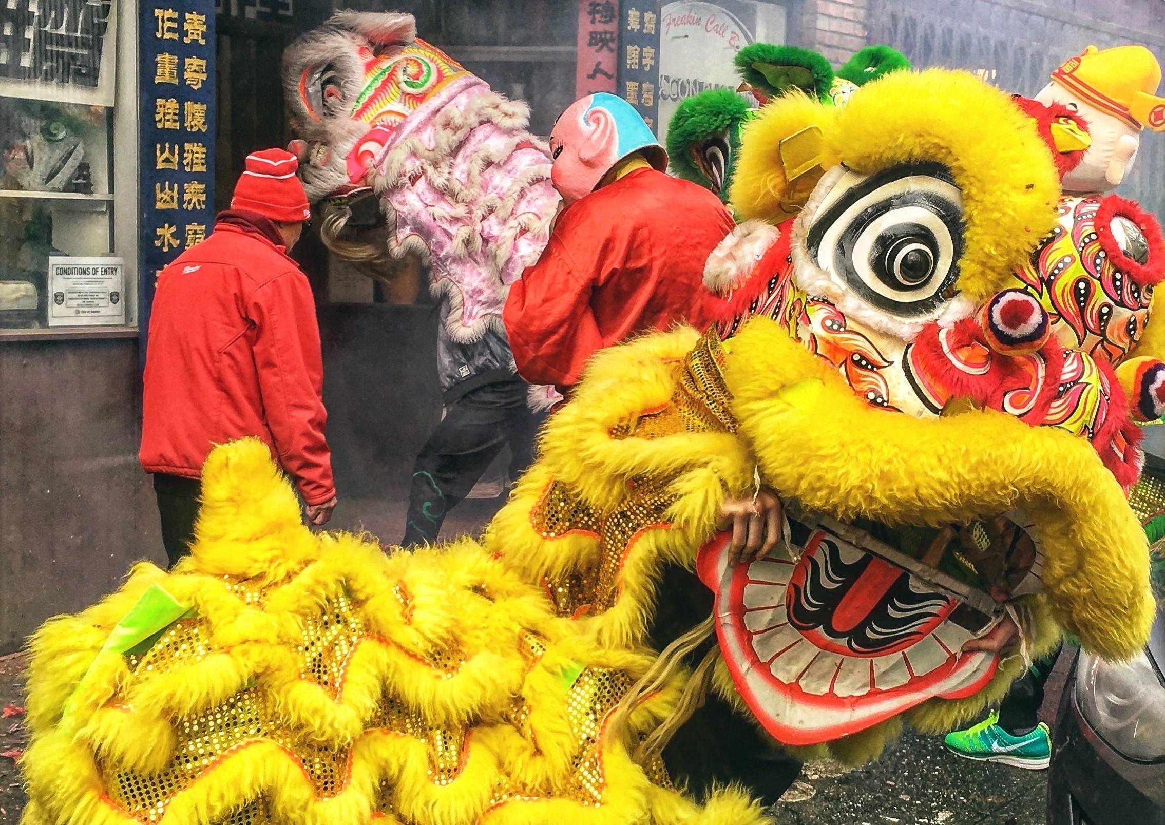 Čínský nový rok vSeattlu