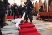 Évacuation de l'église Sainte-Rita : des élus de droite dénoncent une intervention violente